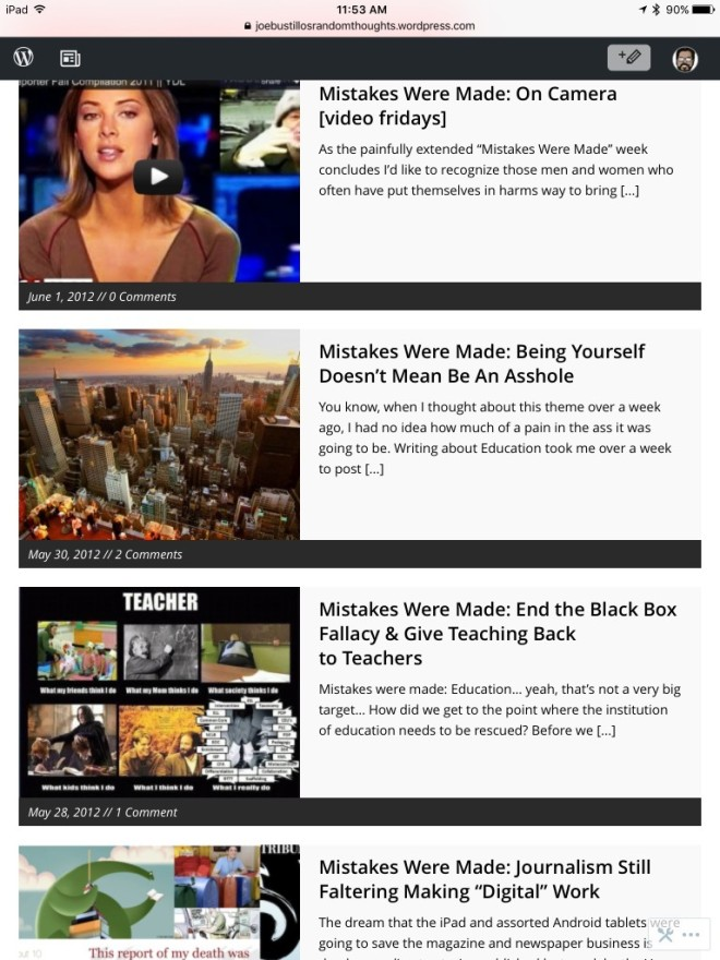 Four-Article Subject Themes Example